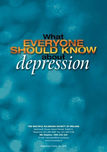 What Everyone should know about MS & Depresssion ... - MS Ireland