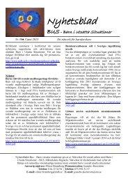 Nyhetsbladet BUS - Nr. 30, juni 2013 (pdf 119 kB) - Mälardalens ...