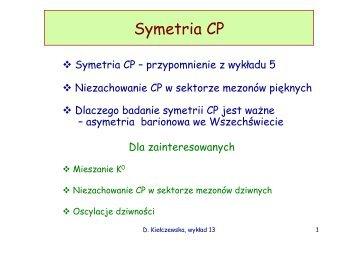 Symetria CP