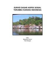 survei dasar aspek sosial terumbu karang indonesia - coremap