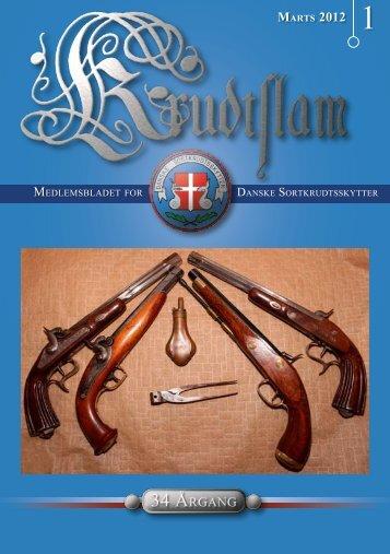 Krudtslam Nr.1-2012 - Forbundet Af Danske Sortkrudtskytteforeninger