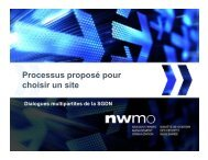 Présentation offerte par la SGDN dans le cadre des Dialogues ...