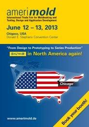 June 12 – 13, 2013 - EuroMold