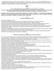 12) Vyhláška Ministerstva zdravotníctva Slovenskej republiky č. 364 ...