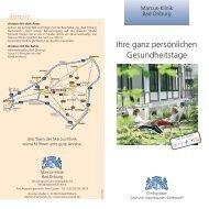 Anreise - Moritz Klinik