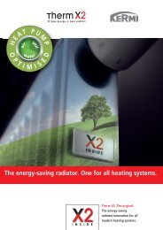 The energy-saving radiator. One for all heating - AIRCO line