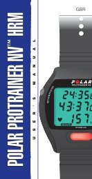polar protrainer nv hrm polar protrainer nv hrm - Sark Products