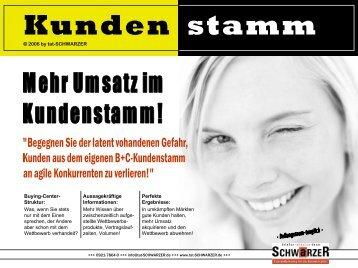 Kunden stamm - tat SCHWARZER