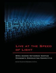 Live at the Speed of Light - Blandin Foundation