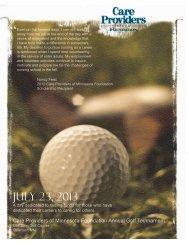 July 23, 2013 - Care Providers of Minnesota