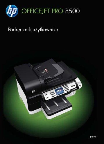 HP Officejet Pro 8500 Printer series User Guide ... - KomputerPc.pl