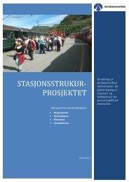 Stasjonsstruktur - Jernbaneverket