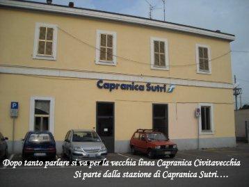 Stazione Capranica Sutri - VediRomaInBici