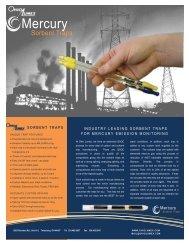 Sorbent Trap Brochure - Ohio Lumex Co.