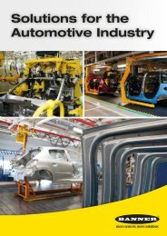 Solutions for the Automotive Industry - Elion