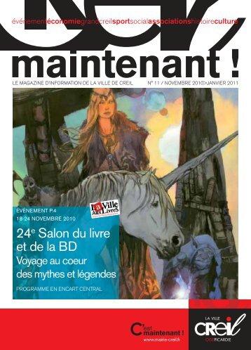 Magazine Creil Maintenant n°11 Novembre 2010 ... - Ville de Creil
