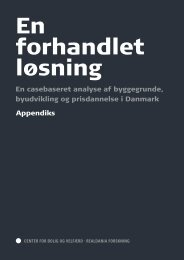 Appendix - Center for Boligforskning