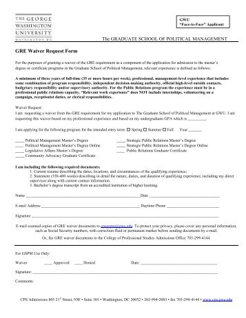 Nepotism Policy And Management Plan  Waiver Request Form