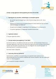 Concept verslag algemene ledenvergadering AV Unitas 24 mei ...