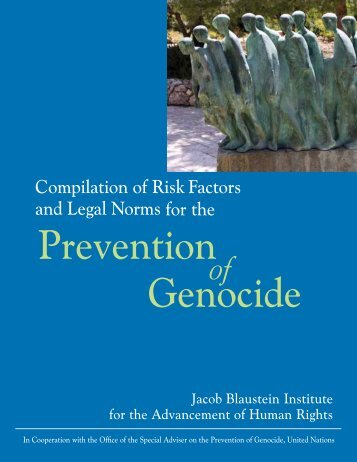 Compilation of Risk Factors and Legal Norms for ... - JBI Human Rights