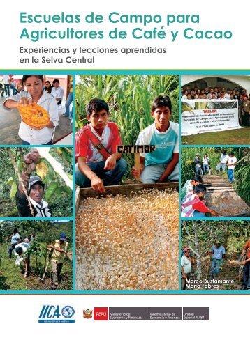Escuelas de Campo para Agricultores de Café y Cacao - Instituto ...