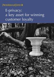 E-privacy: a key asset for winning customer loyalty - Attitudeweb