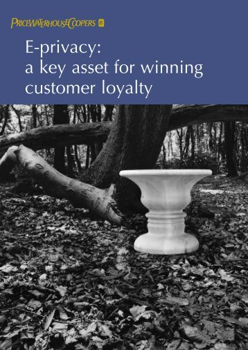 E-privacy: a key asset for winning customer loyalty - Attitudeweb