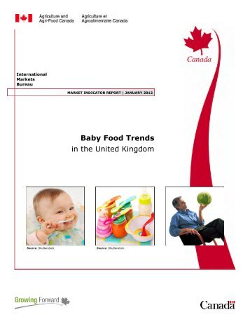 Baby Food Trends in the United Kingdom