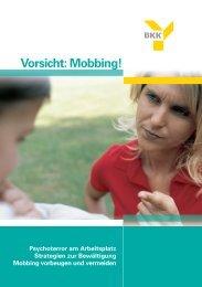 Vorsicht: Mobbing! - SANSULTING