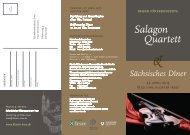 Salagon Quartett - Kloster Irsee