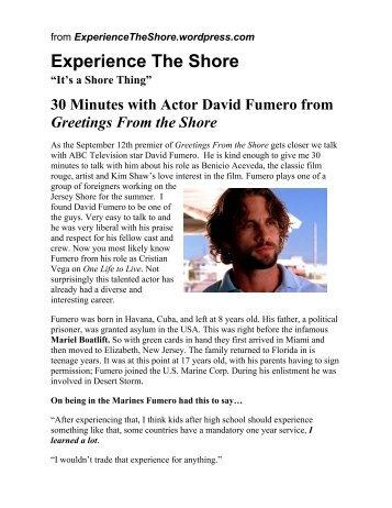 Experience The Shore - Michael Howard Studios