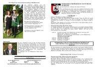 Festschrift Schützenfest 2013 - Schützengilde Bodenteich