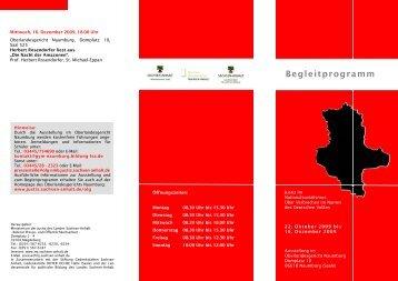 Begleitprogramm zur Ausstellung im Oberlandesgericht Naumburg ...
