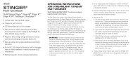 Instrucciones del cargador rápido - Streamlight