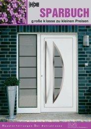 HDE Sparbuch - Behr Fenster