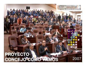 Concejo Cómo Vamos - Rede Nossa São Paulo