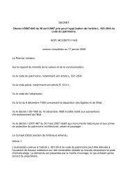 Décret échaffuadage - Cellule Économique du Bâtiment et des ...
