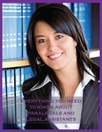 everything you need to know about paralegals and ... - Career Speed