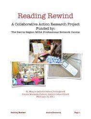 Reading Rewind - Barrie Region MISA PNC