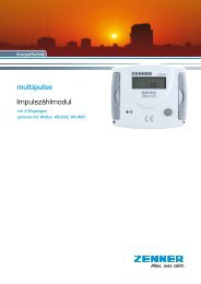 Prospekt multipulse - Zenner