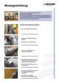Einbau des Anschlussstutzens - Henze GmbH - Seite 3