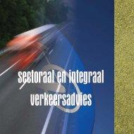 sectoraal en integraal verkeersadvies - Rboi