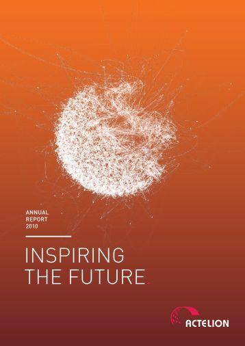 Annual Report 2010 - Actelion