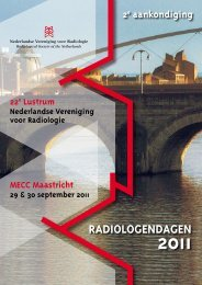 RadioLogENdagEN - Nederlandse Vereniging voor Radiologie