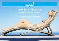 hrvatska - ultra first minute - leto 2011...hit cene!!! - Wayout