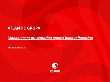 FINANCIAL OVERVIEW - Atlantic Grupa