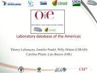 Laboratory database of the Americas - Caribvet
