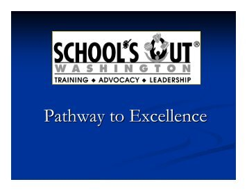 Pathway to Excellence: An Innovative Professional Development ...