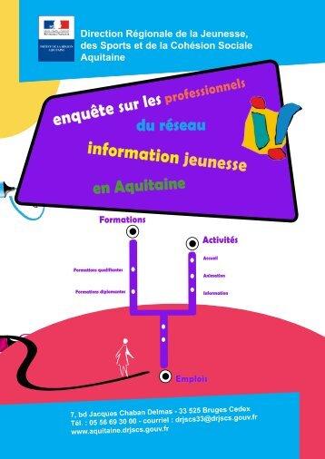 enquête information jeunesse - drjscs