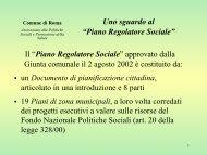 "Uno sguardo al ""Piano Regolatore Sociale"" - Anima"